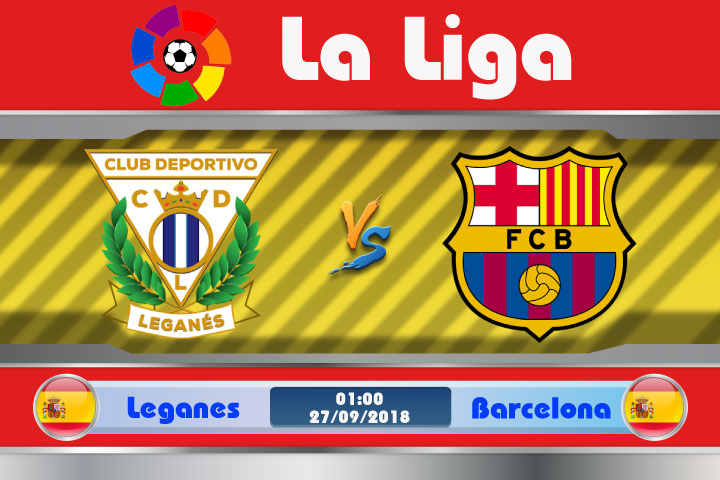 Soi kèo Leganes vs Barcelona 01h00, ngày 27/9: Chiến thắng mong manh