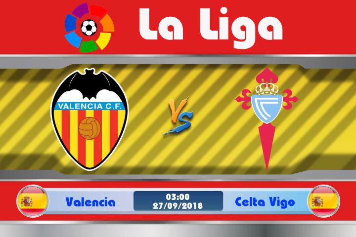 Soi kèo Valencia vs Celta Vigo 03h00, ngày 27/9: Hiểm họa từ Bầy Dơi