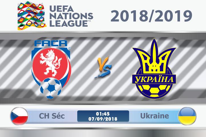 Soi kèo CH Séc vs Ukraine 01h45, ngày 07/9: Nỗi đau 7 năm trước