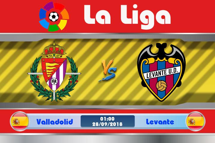 Soi kèo Valladolid vs Levante 01h00, ngày 28/9: Đôi nét tương đồng