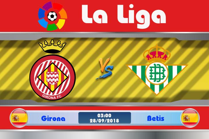 Soi kèo Girona vs Betis 03h00, ngày 28/9: Bài toán hóc búa