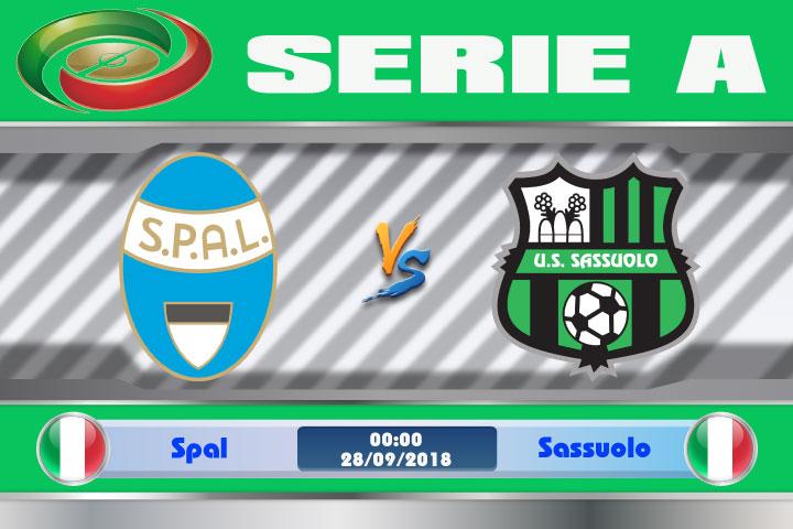 Soi kèo Spal vs Sassuolo 00h00, ngày 28/9: Thế mạnh sân nhà
