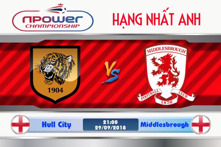 Soi kèo Hull City vs Middlesbrough 21h00, ngày 29/9: Cơ hội soán ngôi