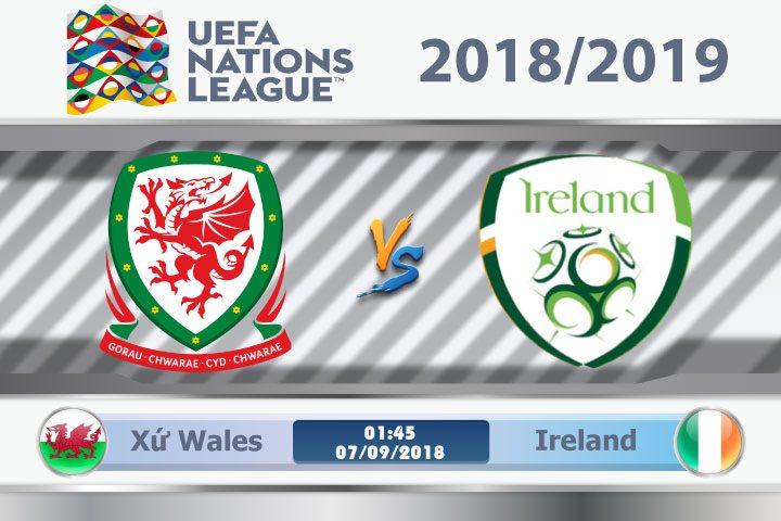 Soi kèo Xứ Wales vs Ireland 01h45, ngày 07/9: Oan gia đối đầu