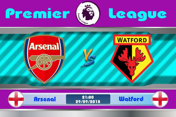 Soi kèo Arsenal vs Watford 21h00, ngày 29/9: Tiến vào top 4