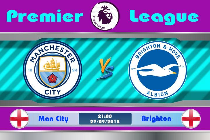 Soi kèo Man City vs Brighton 21h00, ngày 29/9: Hải âu lâm nguy