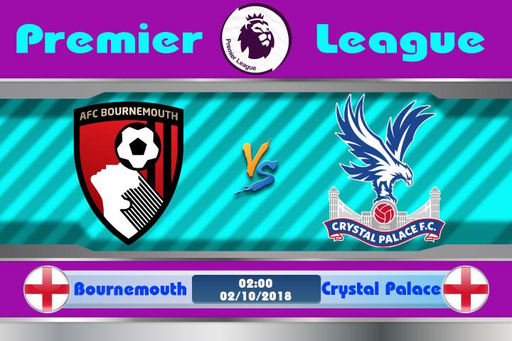 Soi kèo Bournemouth vs Crystal Palace 02h00, ngày 2/10: Cân tài cân sức
