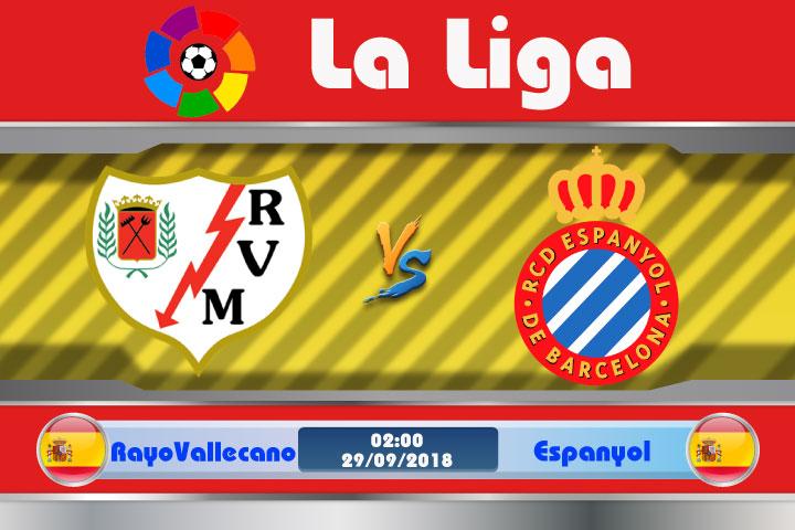 Soi kèo Rayo Vallecano vs Espanyol 02h00, ngày 29/9: Nỗi lo xa nhà