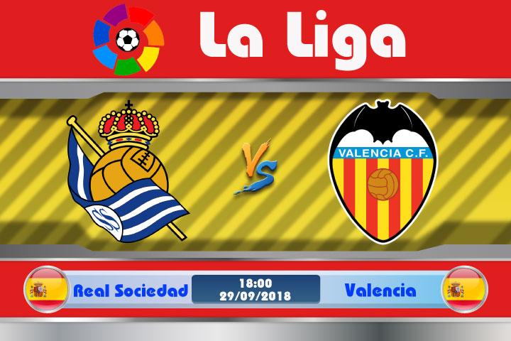 Soi kèo Real Sociedad vs Valencia 18h00, ngày 29/9: Hao hụt thể lực