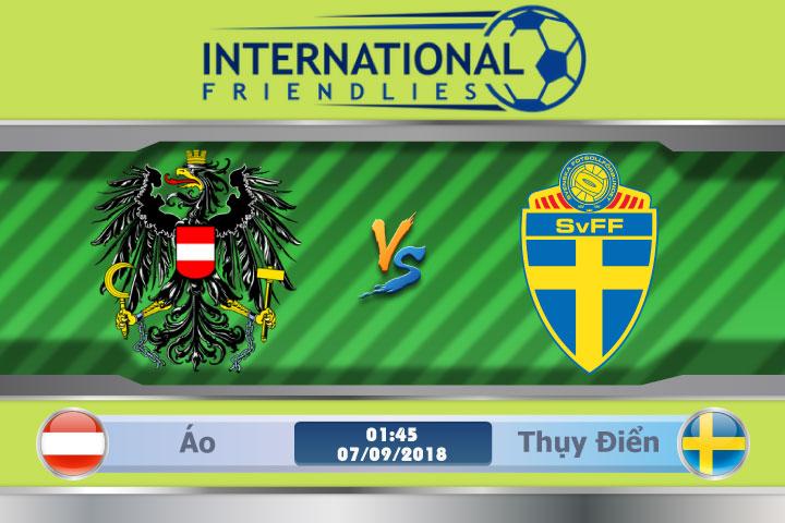 Soi kèo Áo vs Thụy Điển 01h45, ngày 07/9: Bài test dễ chịu