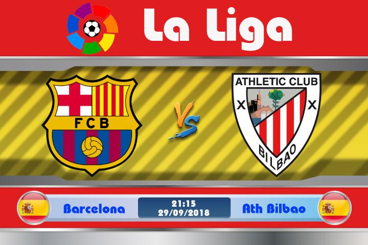 Soi kèo Barcelona vs Ath Bilbao 21h15, ngày 29/9: Tử địa Camp Nou