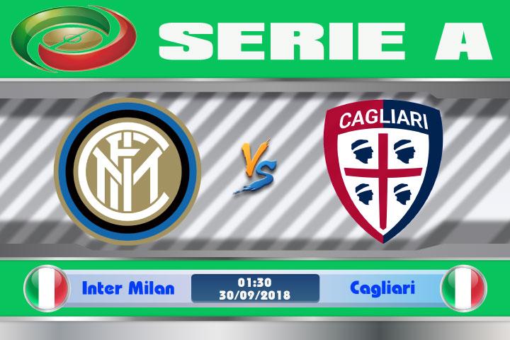 Soi kèo Inter Milan vs Cagliari 01h30, ngày 30/9: Đường vào top 4