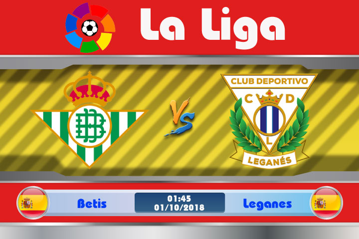 Soi kèo Betis vs Leganes 01h45, ngày 01/10: Chấm dứt niềm vui