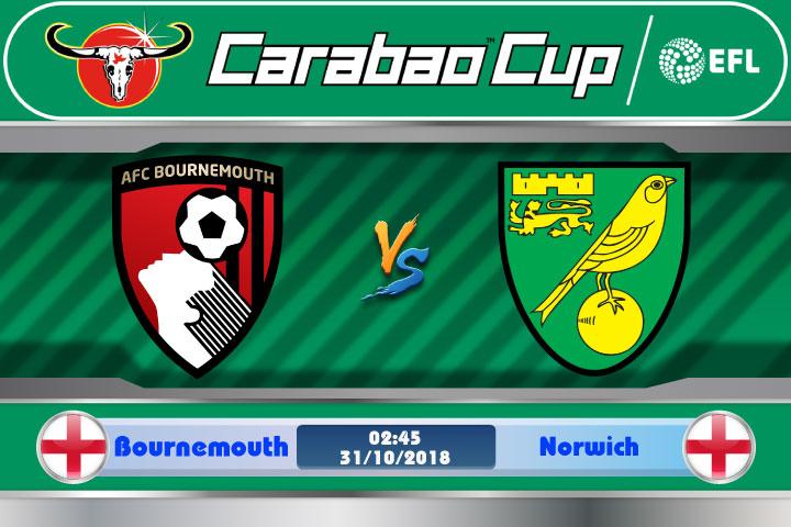 Soi kèo Bournemouth vs Norwich 02h45, ngày 31/10: Chủ nhà vượt trội