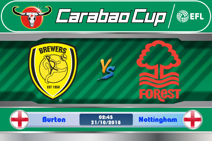 Soi kèo Burton vs Nottingham 02h45, ngày 31/10: Thành tích xuống dốc