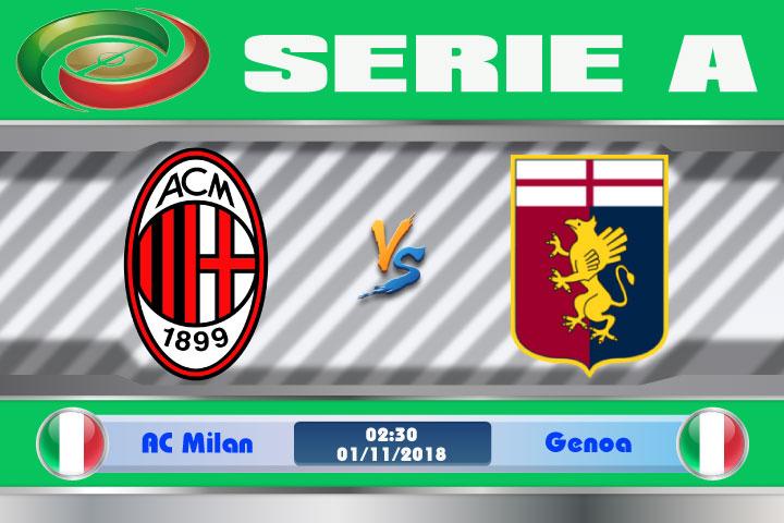 Soi kèo AC Milan vs Genoa 02h30, ngày 01/11: Bài toán thể lực