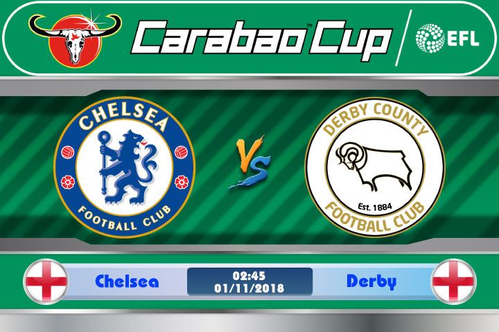 Soi kèo Chelsea vs Derby 02h45, ngày 01/11: Trở lại Stamford Bridge