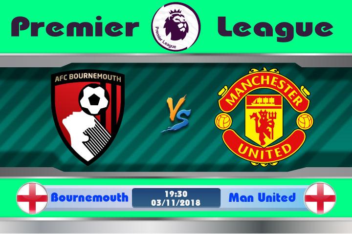 Soi kèo Bournemouth vs Manchester United 19h30, ngày 3/11: Ám ảnh