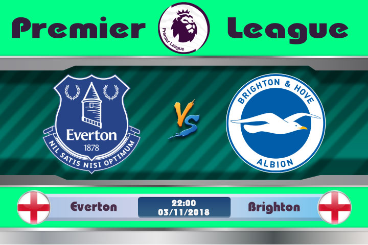 Soi kèo Everton vs Brighton 22h00, ngày 3/11: Điểm yếu xa nhà