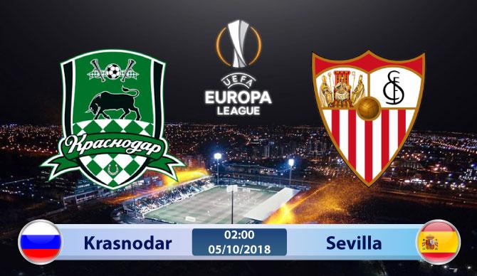 Soi kèo Krasnodar vs Sevilla 02h00, ngày 05/10: Giành lấy ngôi đầu
