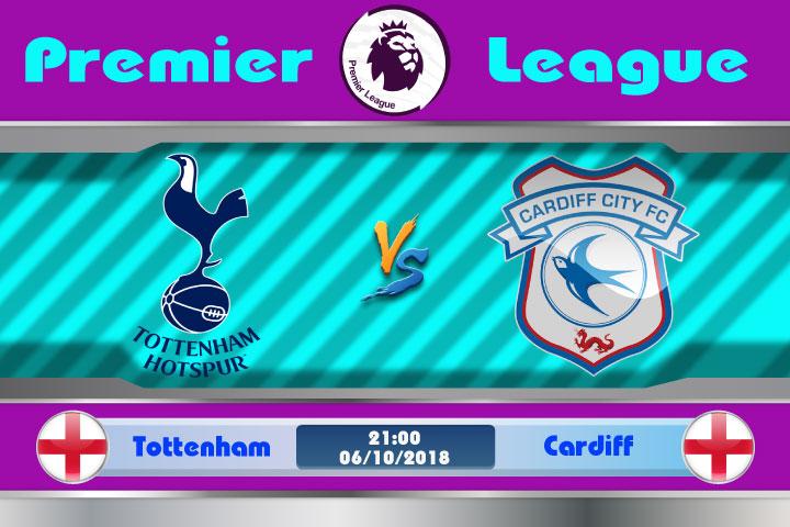 Soi kèo Tottenham vs Cardiff 21h00, ngày 6/10: Chiến thắng không khó
