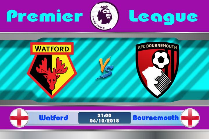 Soi kèo Watford vs Bournemouth 21h00, ngày 6/10: Bất lợi nơi đất khách