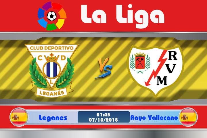 Soi kèo Leganes vs Rayo Vallecano 01h45, ngày 7/10: Kẻ phá đám