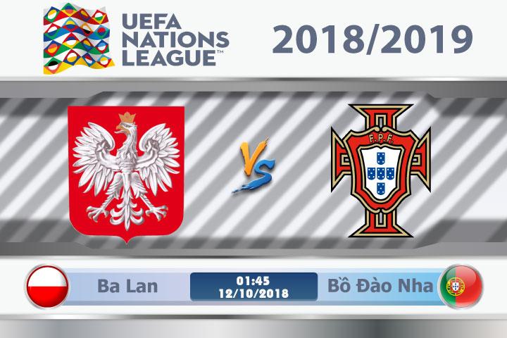 Soi kèo Ba Lan vs Bồ Đào Nha 01h45, ngày 12/10: Cạnh tranh ngôi đầu