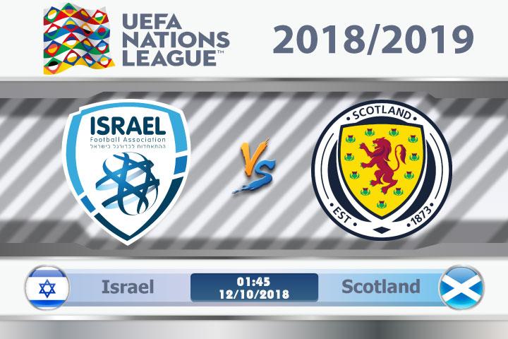 Soi kèo Israel vs Scotland 01h45, ngày 12/10: Không khó để ghi điểm