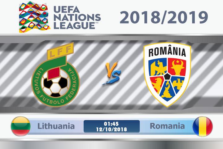 Soi kèo Lithuania vs Romania 01h45, ngày 12/10: Không ngại chủ nhà
