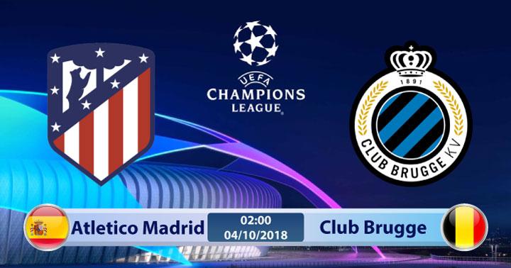 Soi kèo Atletico Madrid vs Club Brugge 23h55, ngày 03/10: Điềm báo