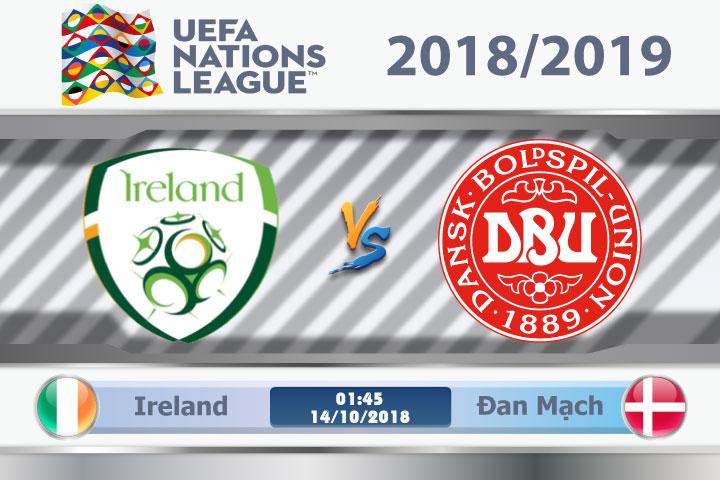 Soi kèo Ireland vs Đan Mạch 01h45, ngày 14/10: Đối mặt với Lính Chì
