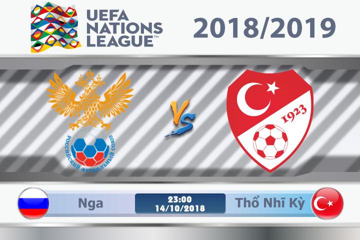Soi kèo Nga vs Thổ Nhĩ Kỳ 23h00, ngày 14/10: Chung kết từ sớm