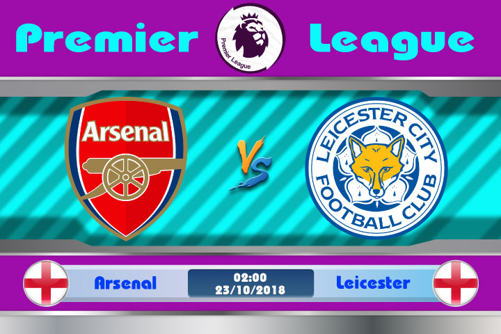 Soi kèo Arsenal vs Leicester 02h00, ngày 23/10: Ác mộng nơi đất khách