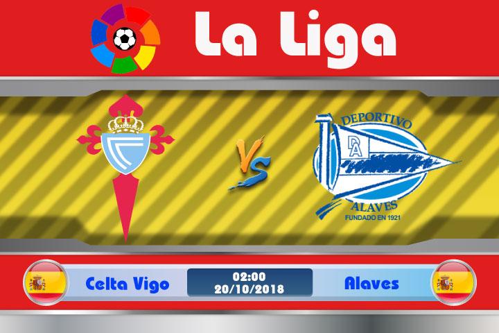 Soi kèo Celta Vigo vs Alaves 02h00, ngày 20/10: Thừa thắng xông lên