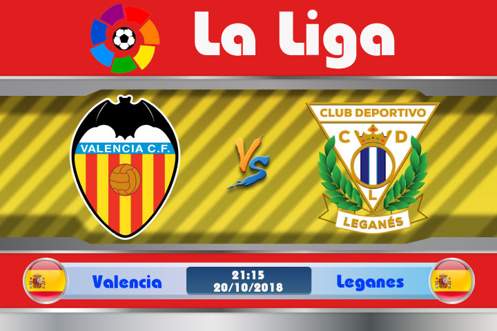Soi kèo Valencia vs Leganes 21h15, ngày 20/10: Đối thủ ưa thích