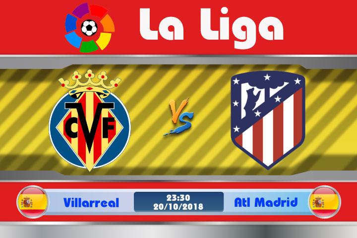 Soi kèo Villarreal vs Atletico Madrid 23h30, ngày 20/10: Viết lại lịch sử