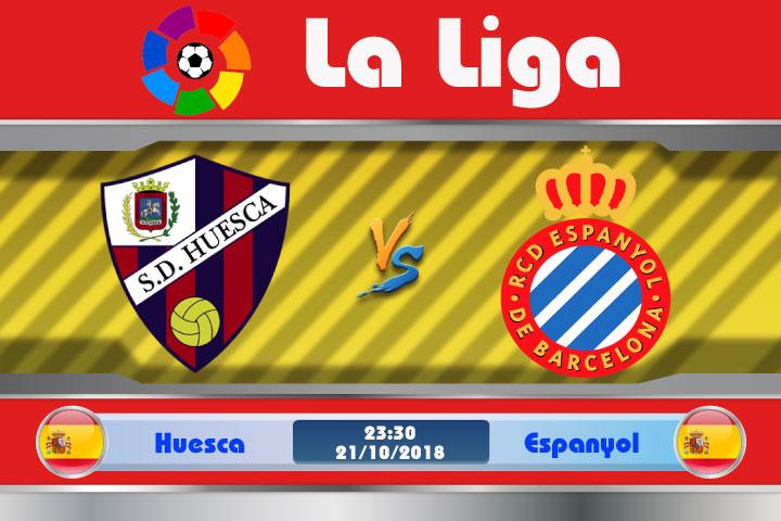 Soi kèo Huesca vs Espanyol 23h30, ngày 21/10: Cơ hội vào top 4