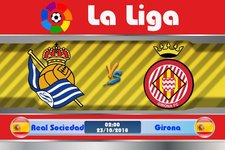 Soi kèo Real Sociedad vs Girona 02h00, ngày 23/10: 3 điểm rất gần