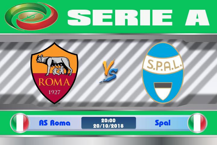Soi kèo AS Roma vs Spal 20h00, ngày 20/10: Chiến thắng không khó