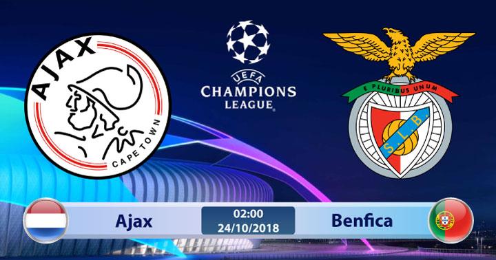 Soi kèo Ajax vs Benfica 02h00, ngày 24/10: Phong độ tương đồng