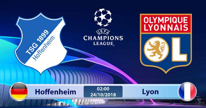Soi kèo Hoffenheim vs Lyon 02h00, ngày 24/10: Chủ nhà yếu thế