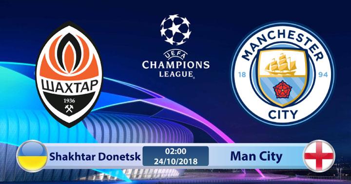 Soi kèo Shakhtar Donetsk vs Man City 02h00, ngày 24/10: Phục hận