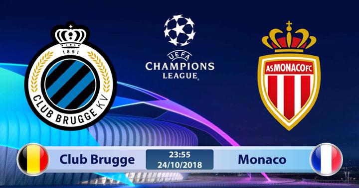 Soi kèo Club Brugge vs Monaco 23h55, ngày 24/10: Cơ hội cuối cùng