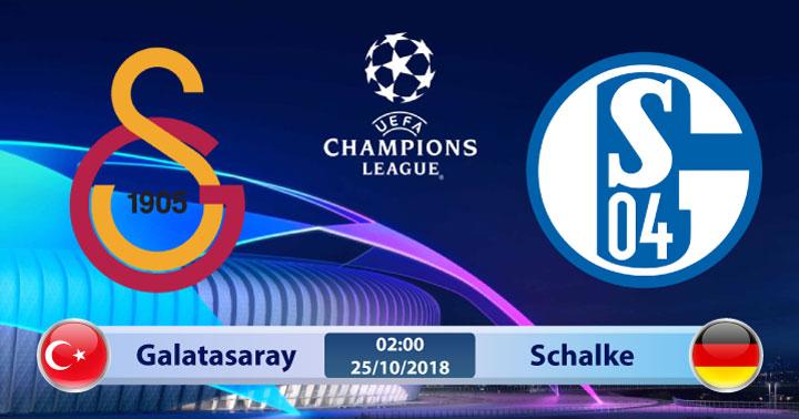 Soi kèo Galatasaray vs Schalke 02h00, ngày 25/10: Cơ hội chia đều