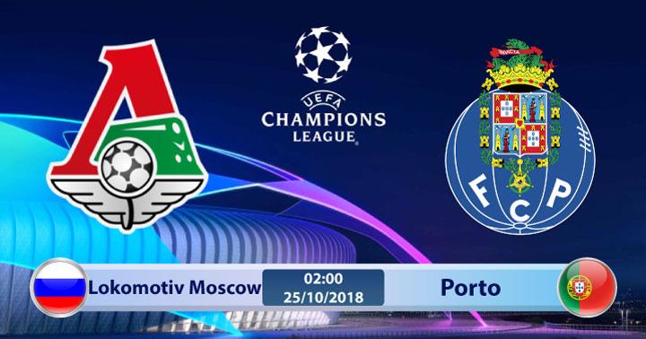 Soi kèo Lokomotiv Moscow vs Porto 02h00, ngày 25/10: Đối thủ khó ăn