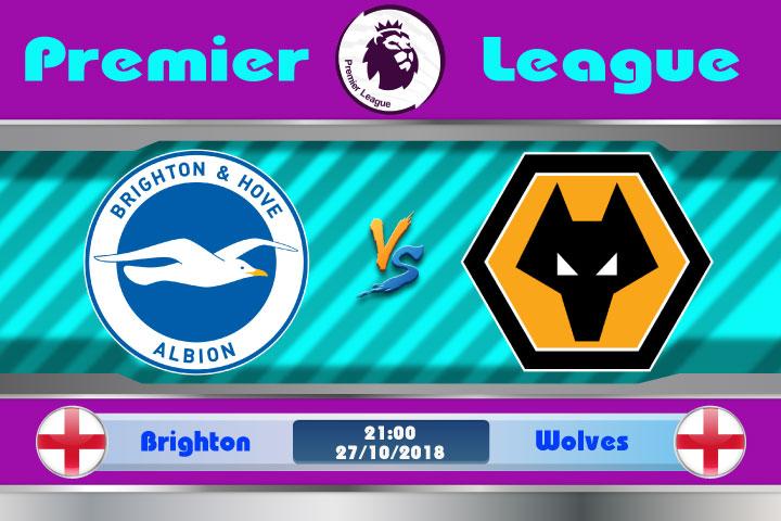 Soi kèo Brighton vs Wolves 21h00, ngày 27/10: Không ngại đất khách
