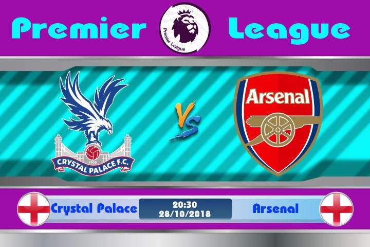 Soi kèo Crystal Palace vs Arsenal 20h30, ngày 28/10: Pháo Thủ thăng hoa