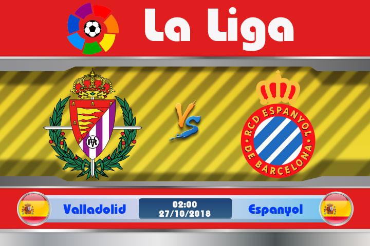 Soi kèo Valladolid vs Espanyol 02h00, ngày 27/10: Ngựa ô sải bước