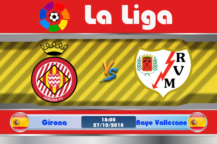 Soi kèo Girona vs Rayo Vallecano 18h00, ngày 27/10: Đối thủ khó chịu